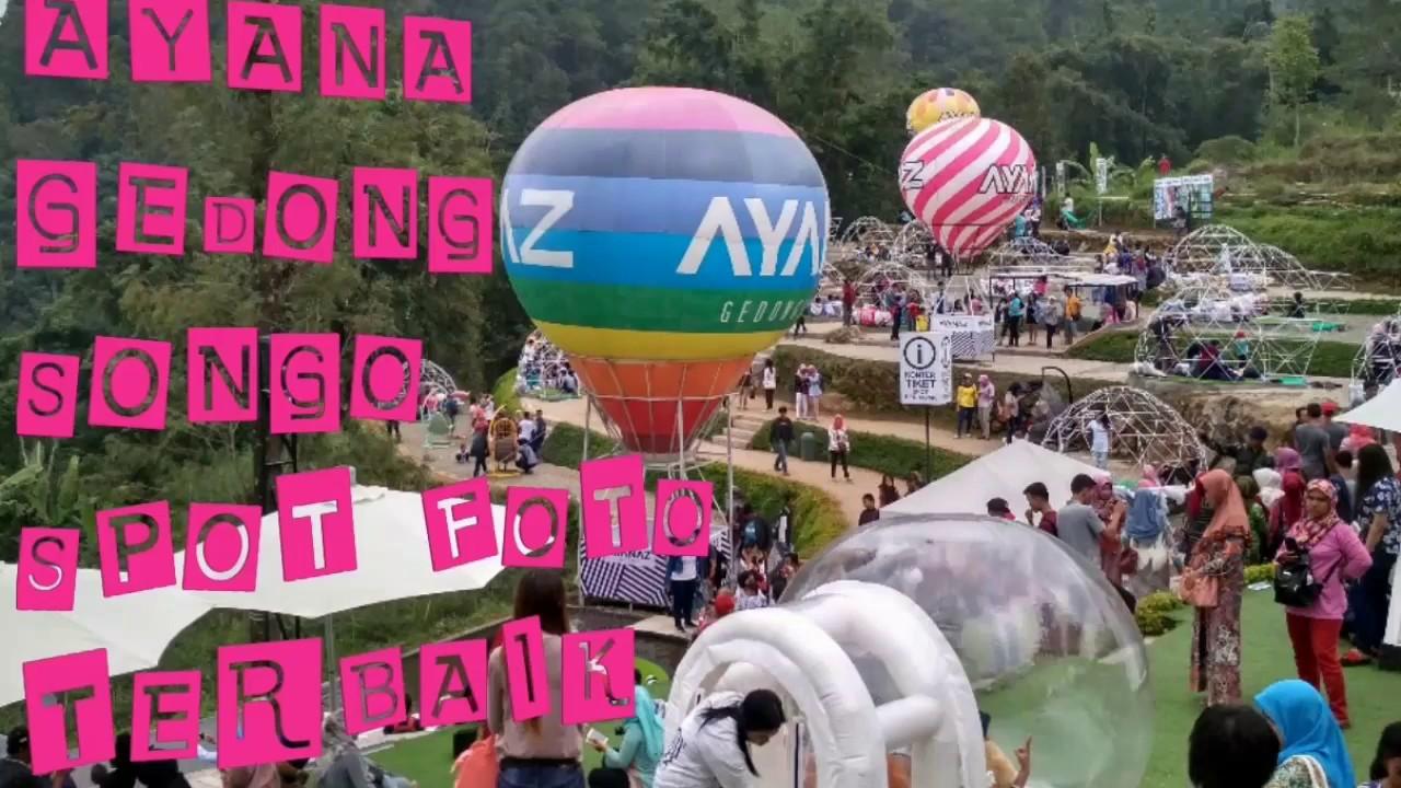 Ayana Gedong Songo Wisata Hits Kekinian Semarang Spot Foto