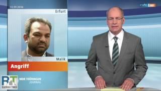 Erfurt Germany: Ahmadiyya spokesperson Suleman Malik attacked