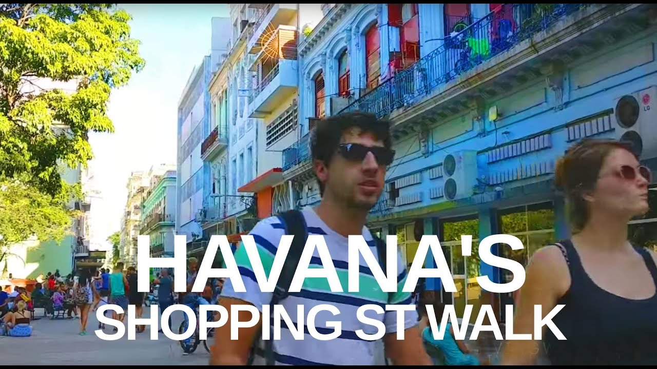 【HD】HAVANA, CUBA WALK - El Capitolio and Parque Central Tourist Spots