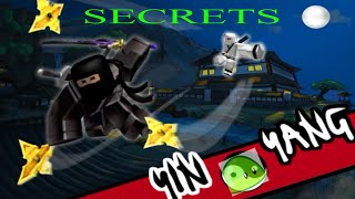 Roblox [YIN vs YANG] 6 secret place's that you can train peacefully!