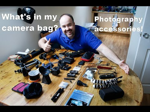 What's in my camera bag - accessories for sports photography