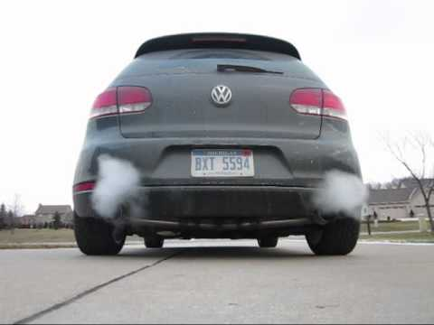 2010 volkswagen mk6 gti with 3 eurojet downpipe. Black Bedroom Furniture Sets. Home Design Ideas