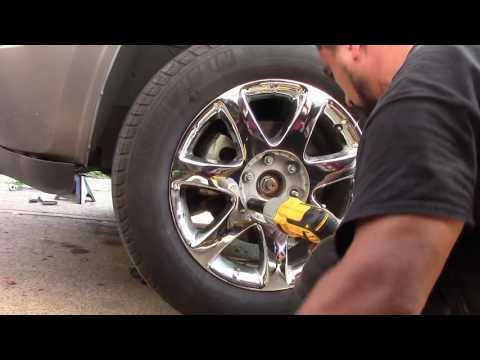 2010 Buick Enclave   How to Change The Front Brakes Pads