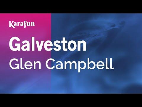 Karaoke Galveston - Glen Campbell *