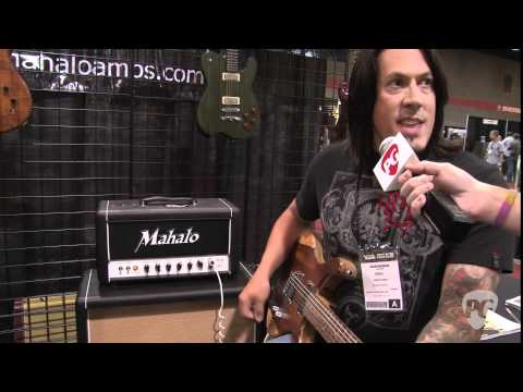Summer NAMM '11 - Mahalo Amplification Katy 66 & DR20 Demos w/ Delaney Guitars Jagata