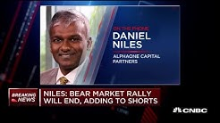 You're now about to go into recession—a real down cycle: Alphaone's Dan Niles