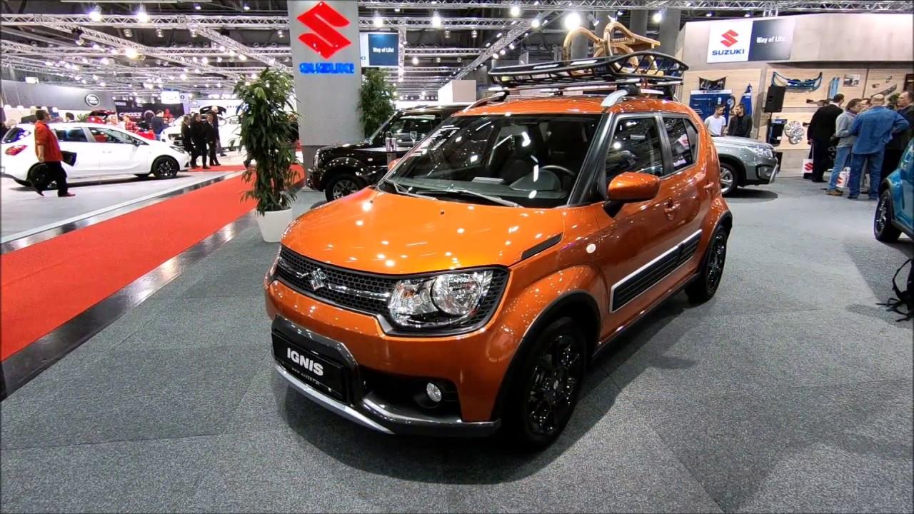 Suzuki Ignis Allgrip Shine New Model Orange Colour Micro Suv