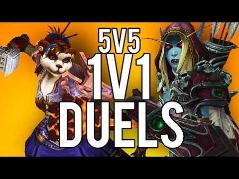 5V5 1V1 DUELS! THESE DUELS ARE INSANE! - WoW: Battle For Azeroth 8 2  (Livestream)