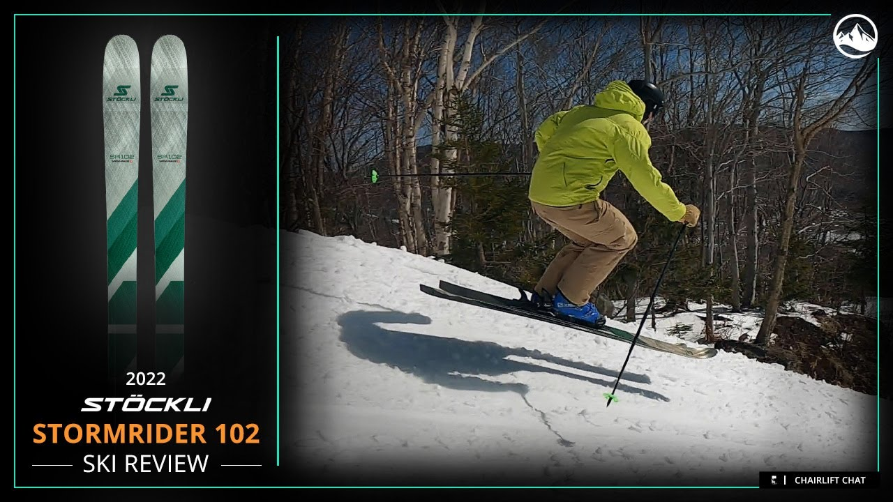 2022 Stockli Stormrider 102 Ski Review with SkiEssentials.com