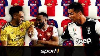 Fans feiern Retro-Look von Arsenal: Der große Trikot-Check der Topklubs | SPORT1
