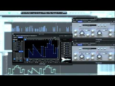 Fazortan (d16 Group) Part 2: LFO Tool (Xfer Records) Control