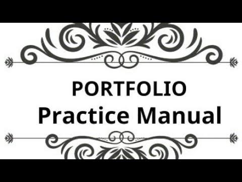 Portfolio, SFM, Practice Manual, CA Final Nov 2017-4/8