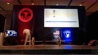 2015 USAW Nationals Platform Cam