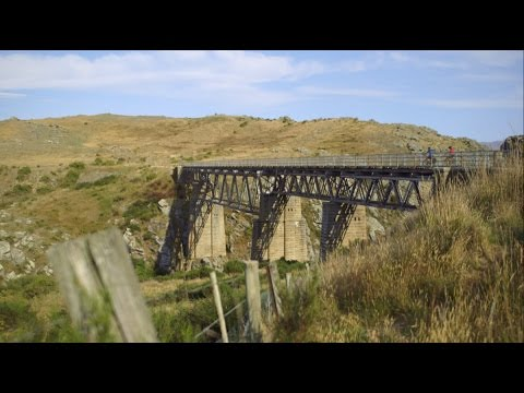 Otago Central Rail Trail, Central Otago, New Zealand