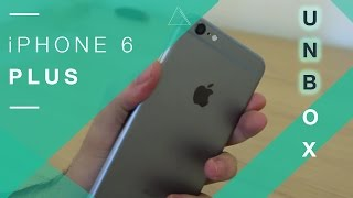 iPhone 6 Plus Unboxing - 64 GB Space Grey