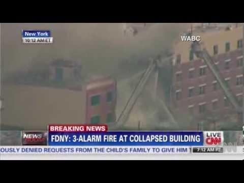 Massive explosion in East Harlem