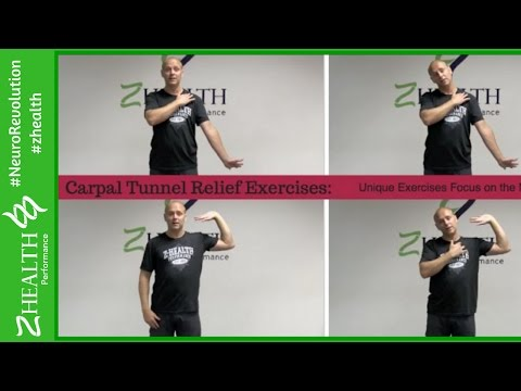 Carpal Tunnel Relief Exercises