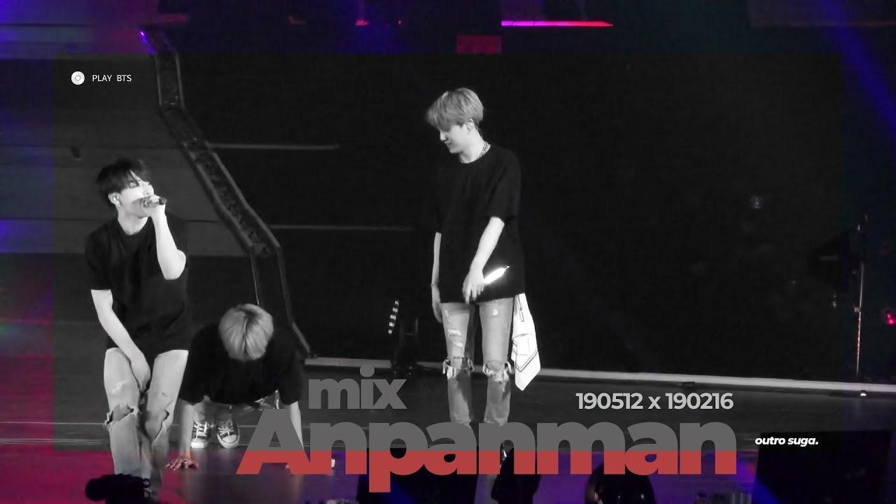 Anpanman (Mix) - BTS SUGA FOCUS (4K fancam)