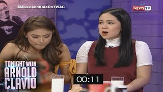 Tonight with Arnold Clavio: Mikee at Kate, kayanin kaya ang 'Spicy Noodle Challenge'?