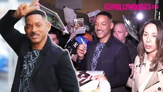 Will Smith Greets Fans & Signs Autographs At Jimmy Kimmel Live! Studios 12.5.16
