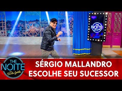 Exclusivo para web: Sérgio Mallandro escolhe seu sucessor  The Noite 230519