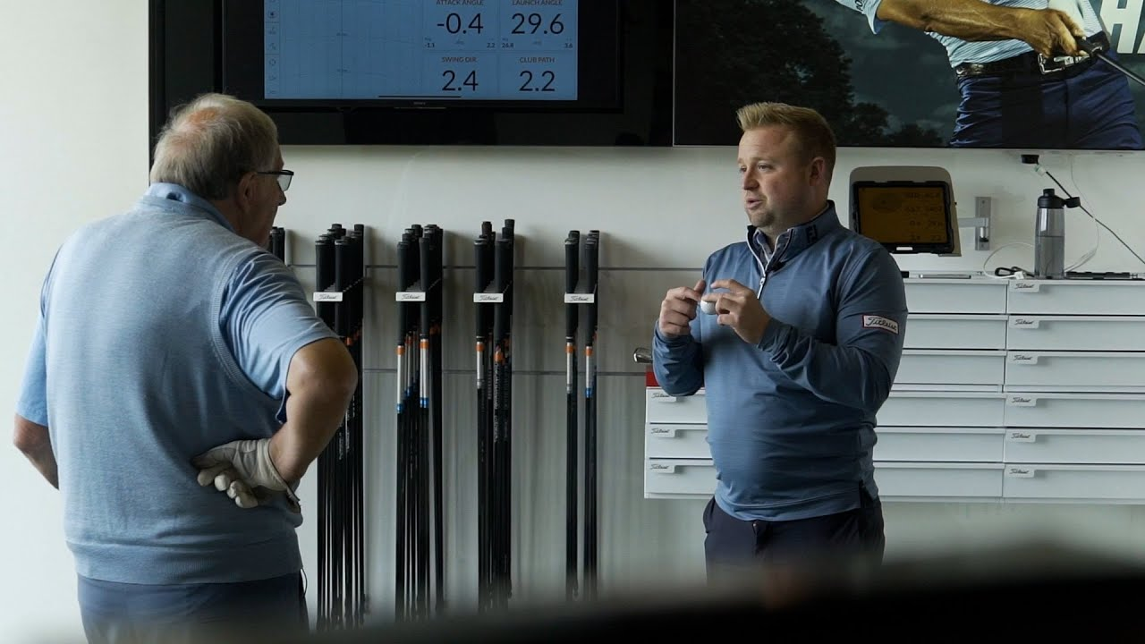 Team Titleist Members Go Through The Ultimate Golf Ball Fitting Experience