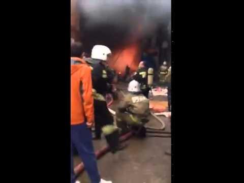 Вьетнамский рынок пожар Казань