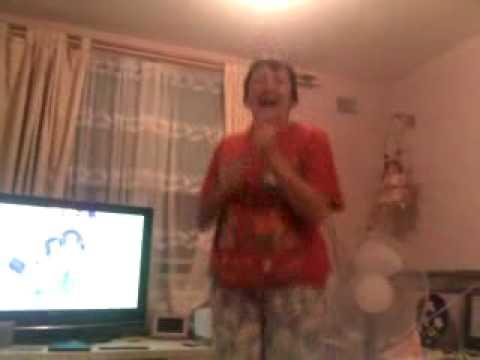 Mum dancing to Don't Wanna Dance by Cassie Davis