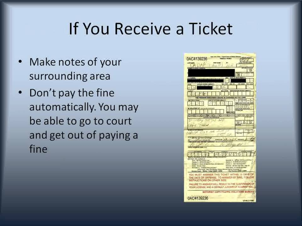 Fix Your Traffic Ticket Using This Method Youtube