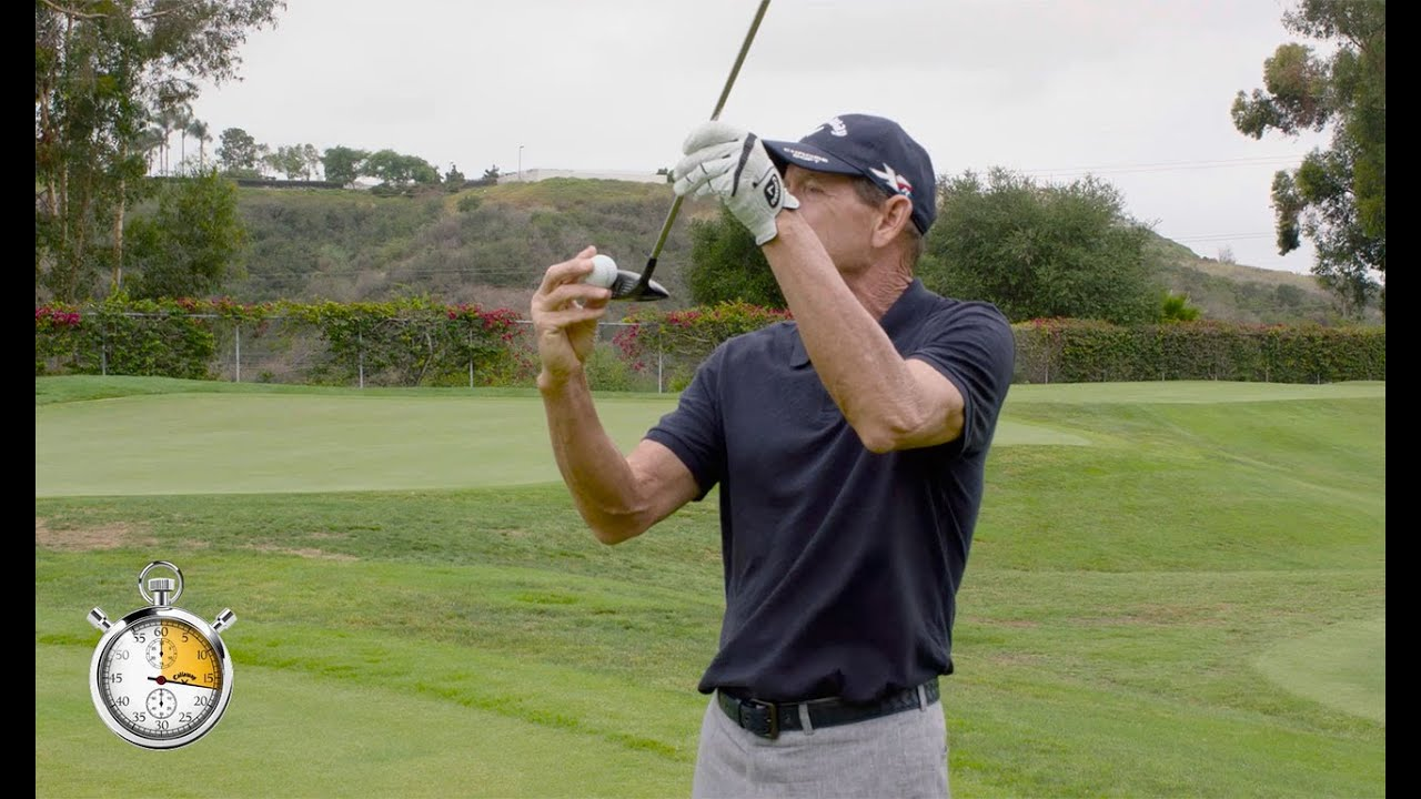 hank haney 30 seconds to better golf proper tee height for