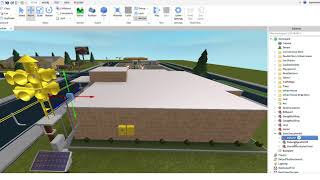 Roblox Studio How to Put a Tornado Siren next to a school Pt.2