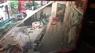 Store clerk Zara Adil flipped the script on a would-be robber Friday night  when she took his gun and shot him as they fought.