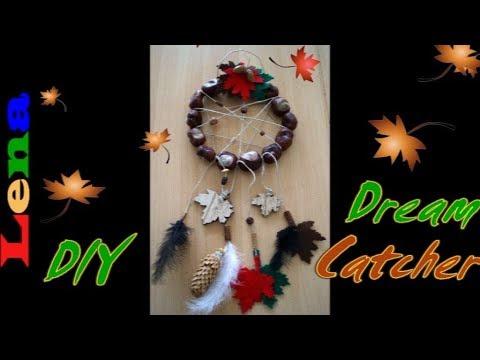 Herbst Traumfänger Basteln How To Make A Autumn Dreamcatcher Diy осенний ловец снов