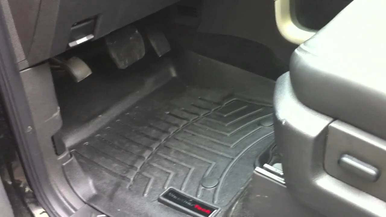 Amazing WeatherTech Floor Liners   F150 Review   YouTube