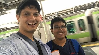 His dream was to visit Tokyo, Japan — and now he's here!