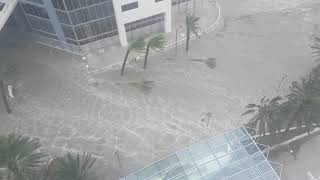 Hurricane Irma Brickell flooding strong winds in Miami