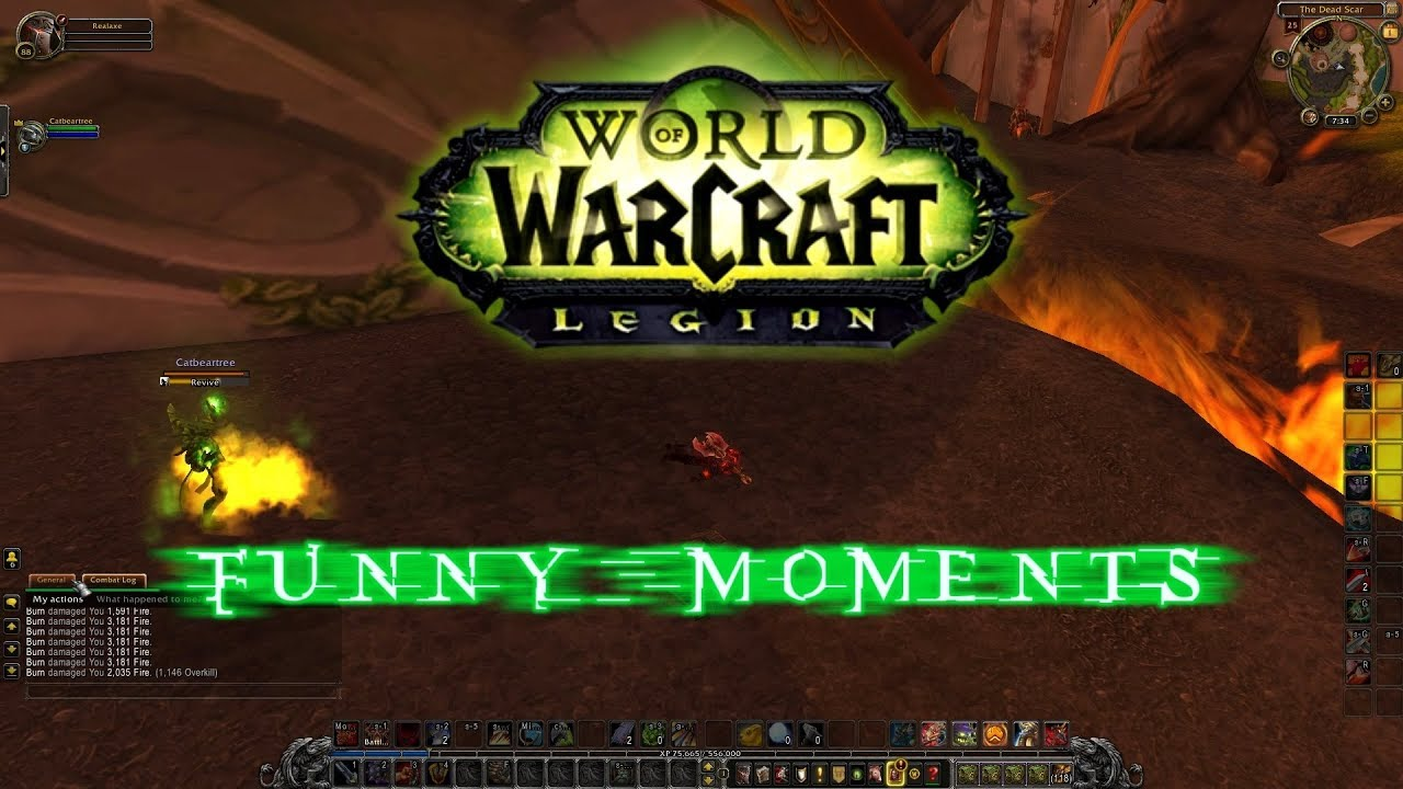 World Of Warcraft Funny Moments Fails Youtube