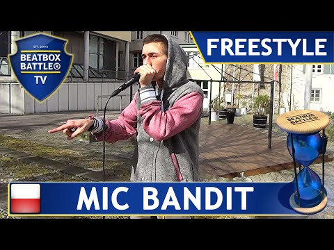 Mic Bandit from Poland - Basel Spring Freestyle - Beatbox Battle TV