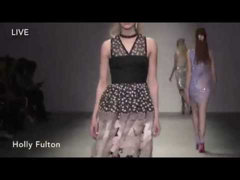 Holly Fulton   Fall Winter 2015/2016 Full Fashion Show   Exclusive