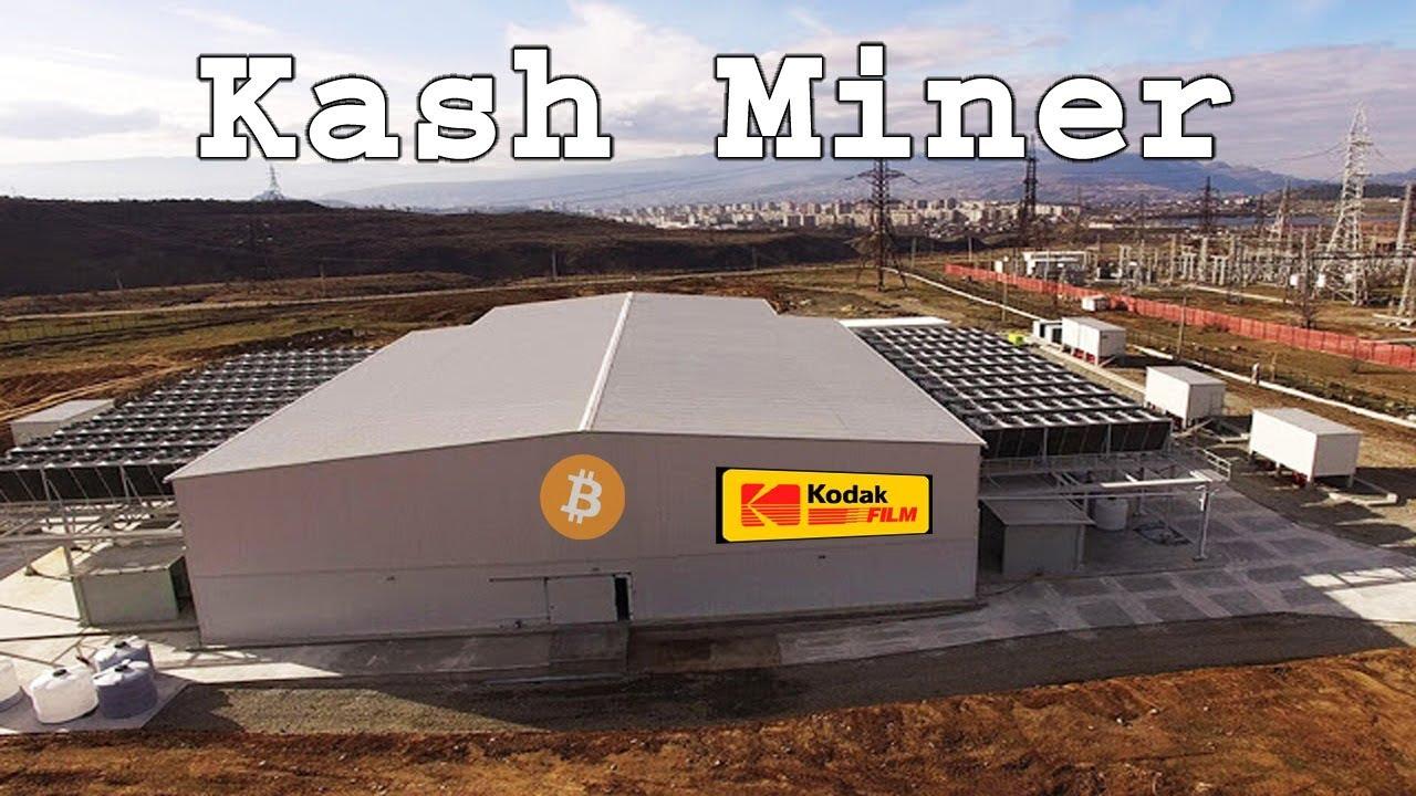 kodak cryptocurrency miner