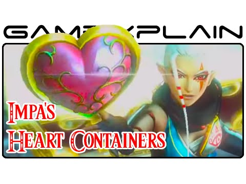 Hyrule Warriors Impa Heart Piece Container Guide Wii U Youtube