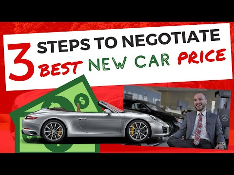 How to Negotiate 18% off MSRP New Car Price at Dealership; Ex Car Salesman Explains How to Buy New