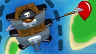 Bloons TD Battles: Boat Pull EVERYTHING Strategy! Best Monkey Pirates BTD Battles Strategy!