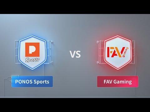 PONOS Sports  vs FAV Gaming - 2018 CRL Asia Week 2 Day 3