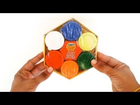 Imagi Doh   Doh Imagi clay Joy Pack Unboxing   Doh clay with 6 diffrent color   KidsZone