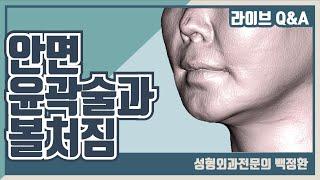 안면윤곽 수술후 발생한…