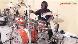Breaking Benjamin - The Diary of Jane, 8 Year Old Drummer. Jonah Rocks