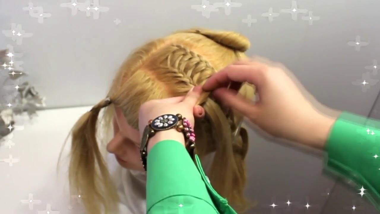 Прическа на длинные волосы – детские причёски для детей красивые прически на каждый день