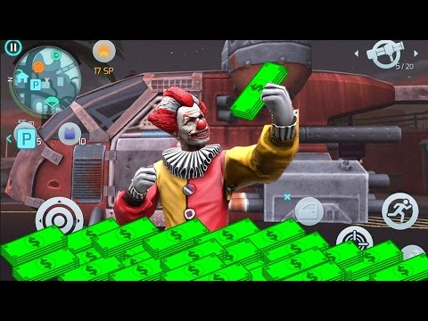 Gangstar Vegas: Clown Waste 20 Million Dollars