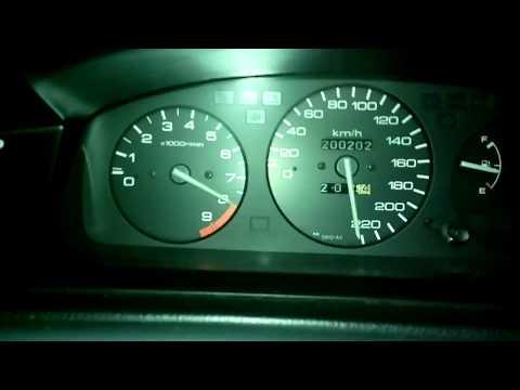 Honda Civic eg6 vti DB - top speed 1.6 stock motor